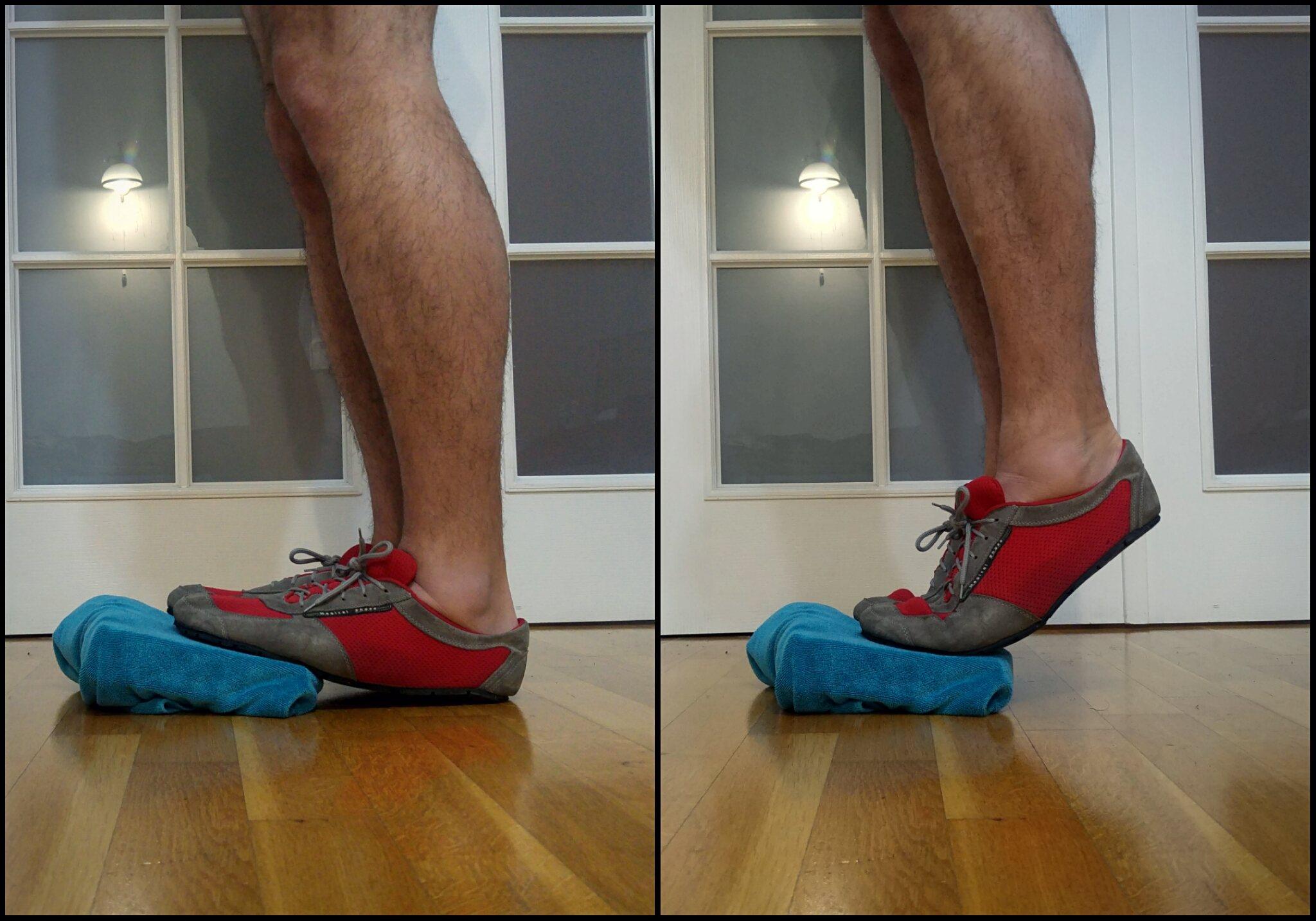 Buty minimalistyczne - wzmocnianie stóp i łydek