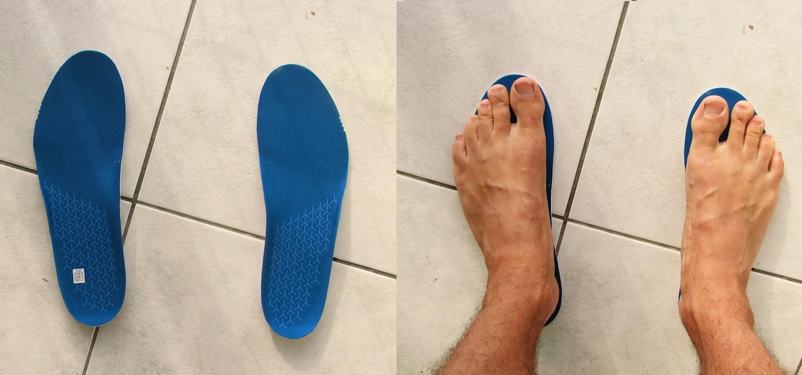 NB MRUSHBL - dopasowanie do stopy