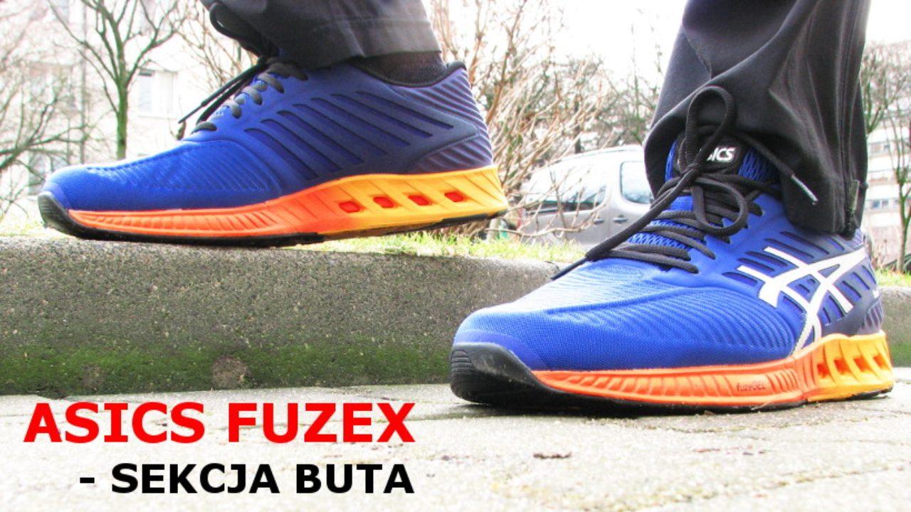 ASICS FuzeX test, recenzja i krojenie butów