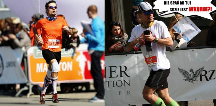 Pierwszy półmaraton to historia. III i IV w 1:26 i 1:48 (zając)