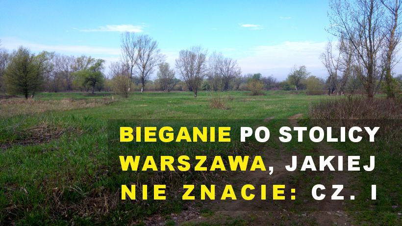 Bieganie w Warszawie - Wisła i Żoliborz