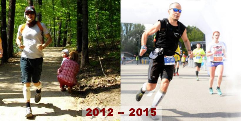 Bieganie zmienia... znajdź trzy różnice
