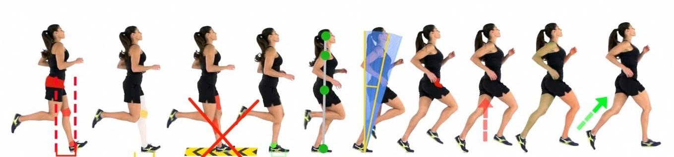 Bezpieczna technika biegu oszczędza kolana