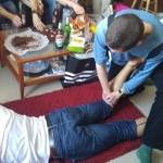 Nagor (Marcin Nagórek, tak - ten Marcin) ratuje nam nogi...