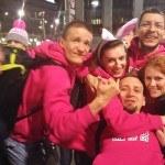 Zakochałem się w tej ekipie. Zaś ekipa - zupełnie tego nieświadoma - dokazuje po 6 godzinach imprezy na ulicach Warszawy