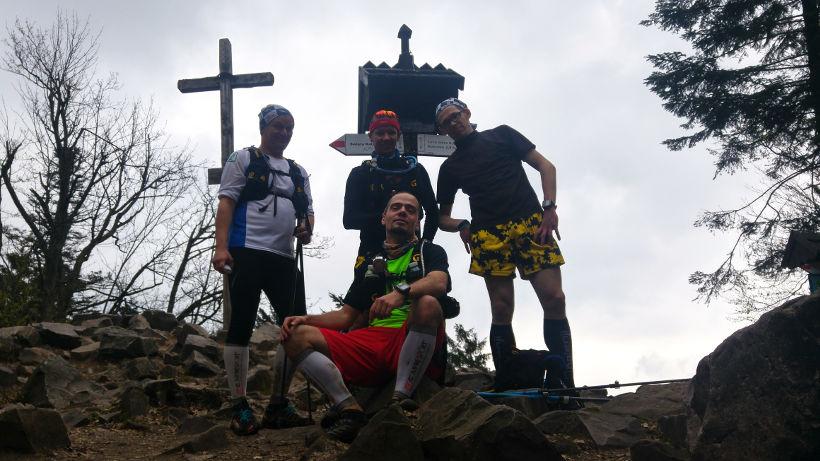 Od lewej: Paweł K, Michał B., Paweł Z., i ja