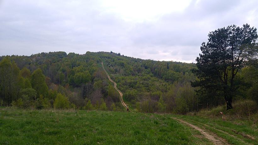 Świętokrzyski trail - ostatni szczyt