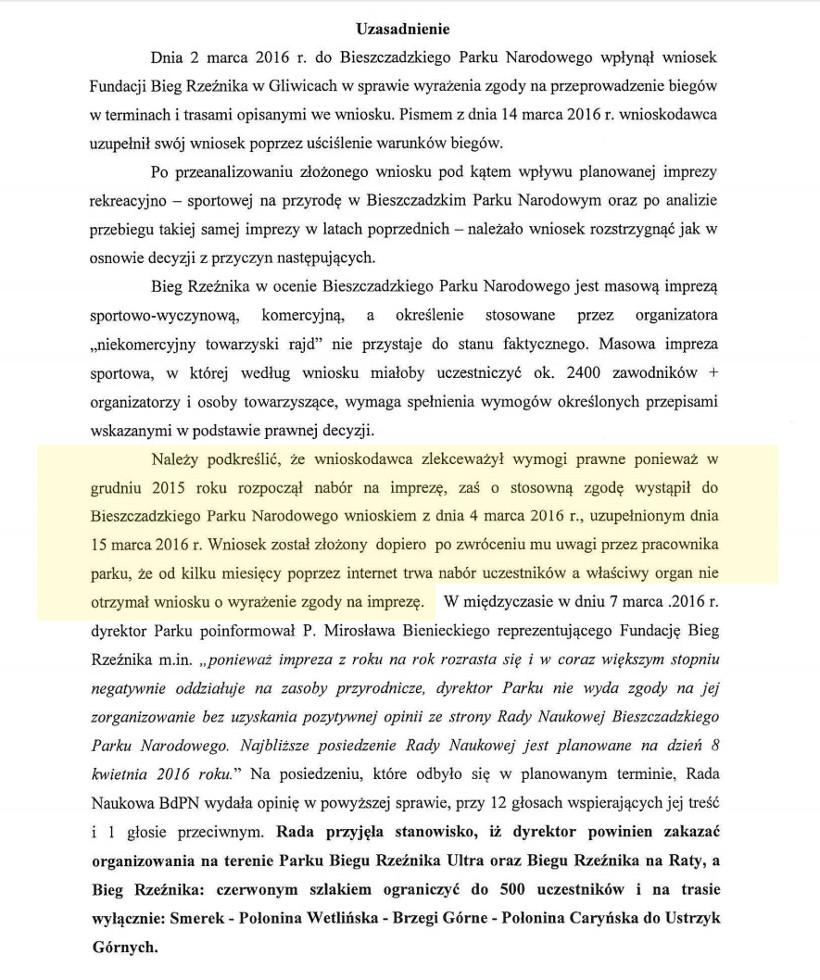 Brak zgody na Rzeźnika - wniosek PN