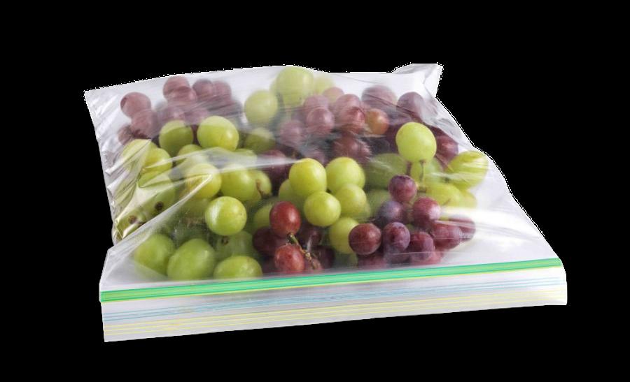 Pakowanie jedzenia - woreczek strunowy