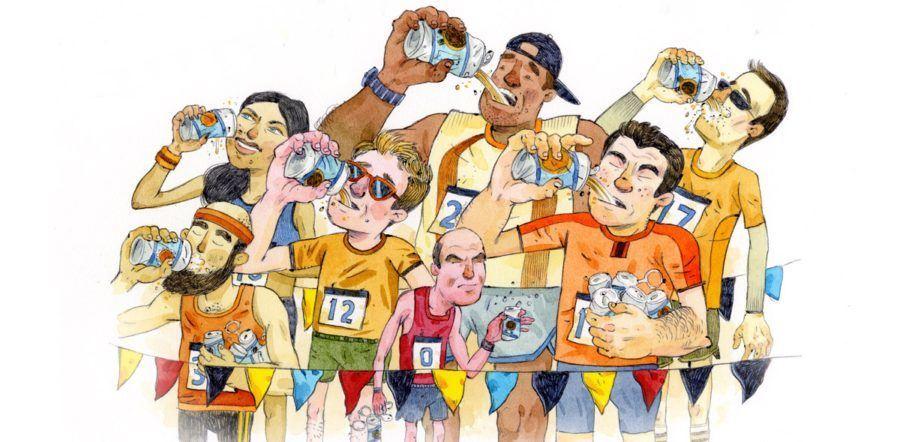 Piwo i bieganie - piwny przelicznik