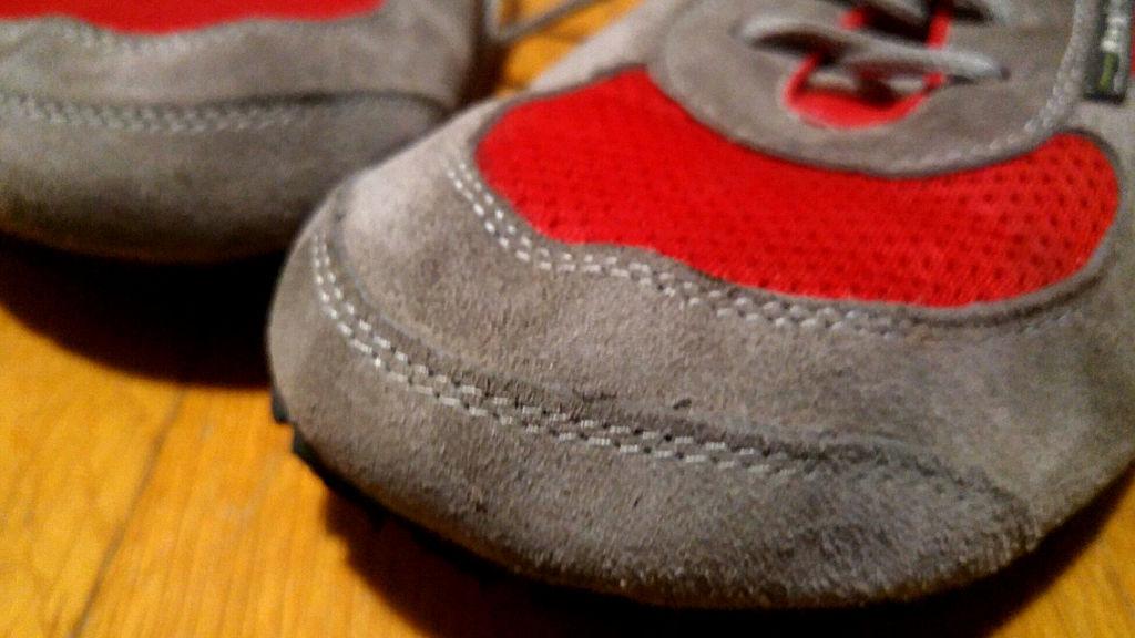 Magical Shoes - zużycie butów po dwóch tygodniach