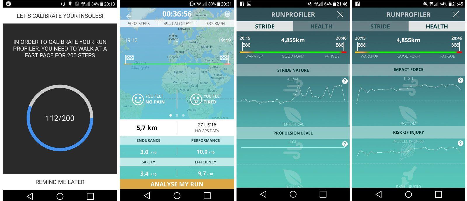 Aplikacja Run Profiler (Android)