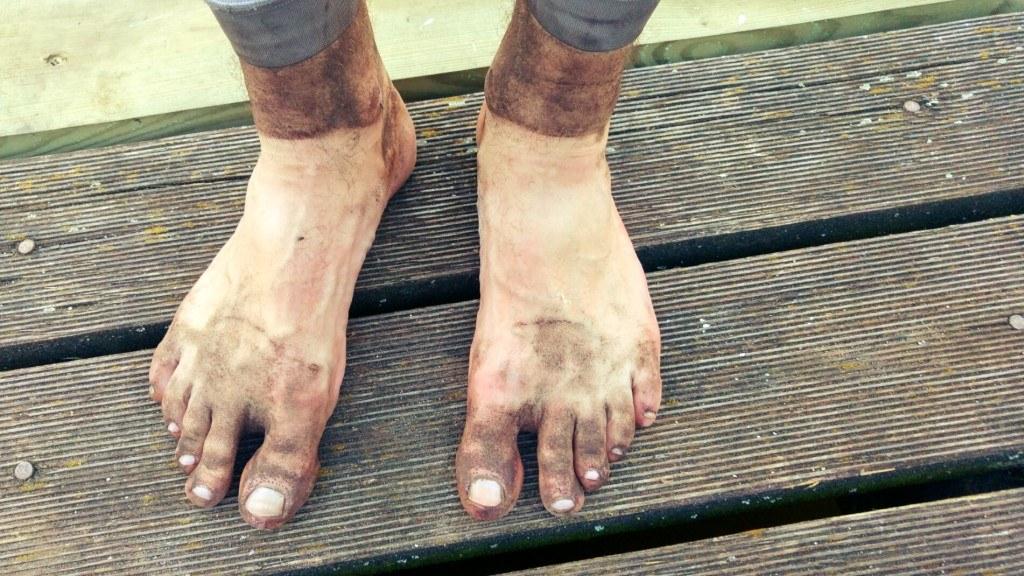 GWiNT - moje stopy po zdjęciu butów