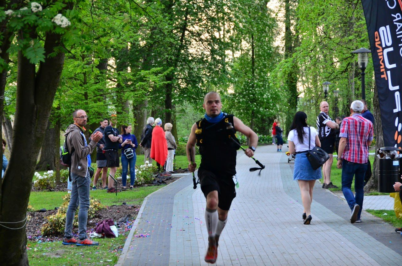 GWiNT - finisz na mecie w Wolsztynie