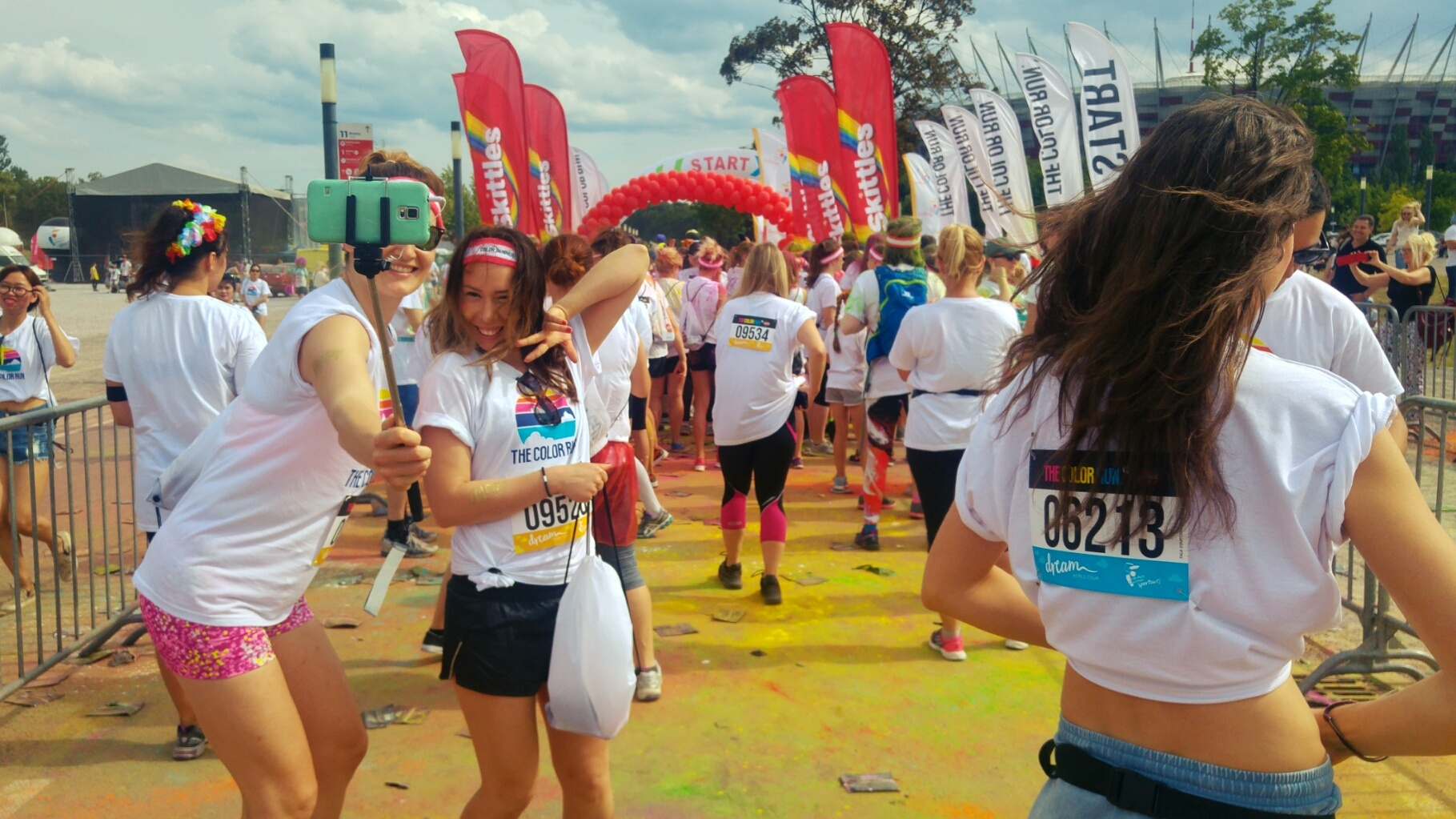 The Color Run - strefa startu