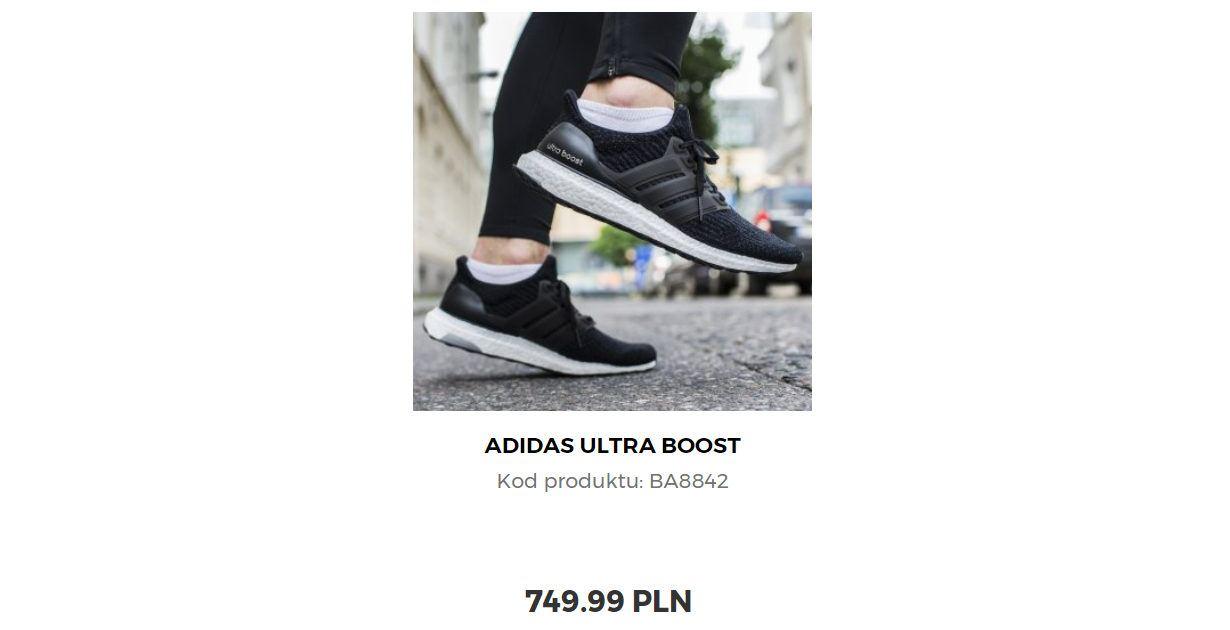 Adidas Ultra Boost w Sklepiebiegacza