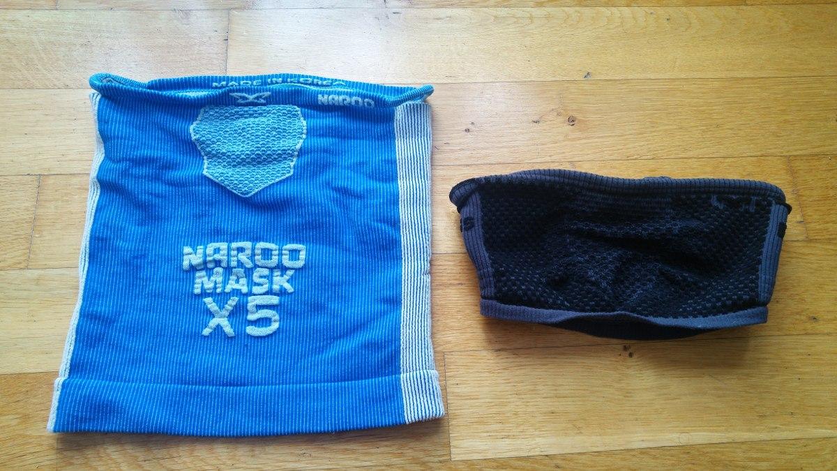 Maski Naroo. Zimowa i przeciwsmogowa