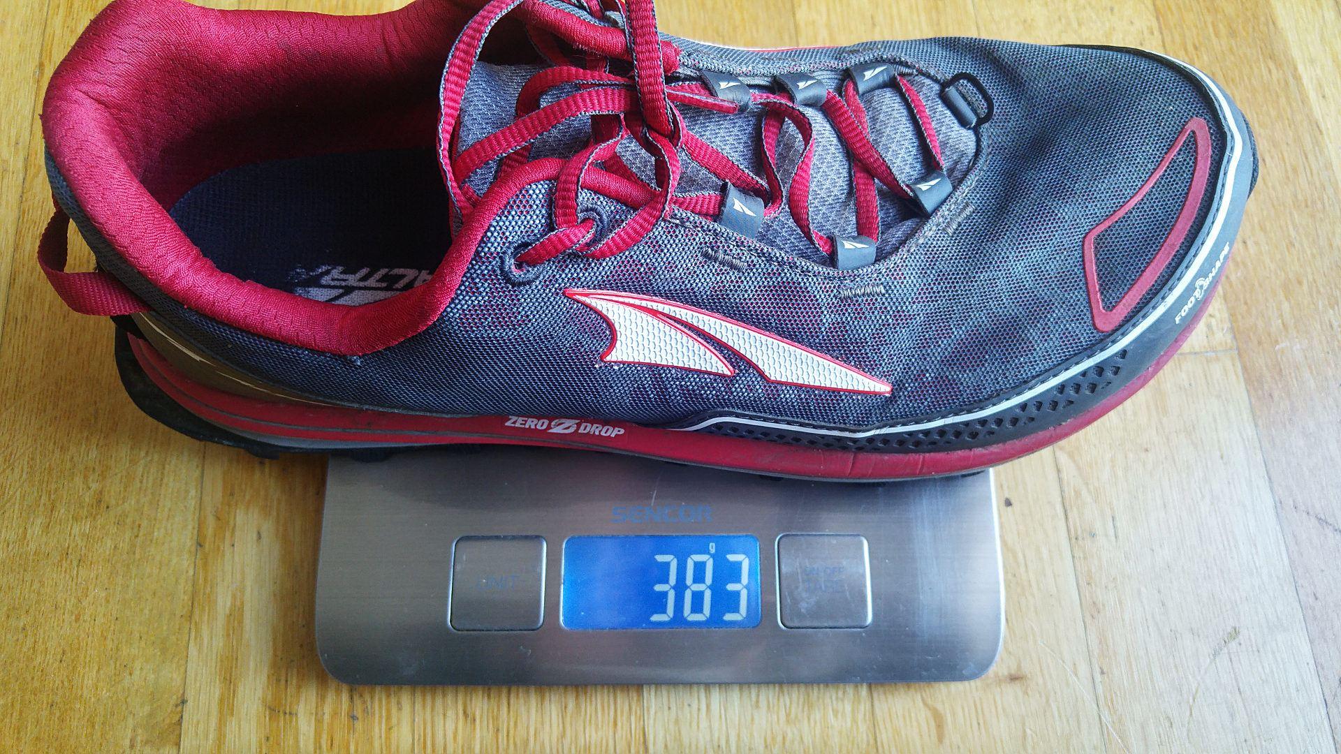 Timpy to blisko 400 gramów wagi - kawał buciora
