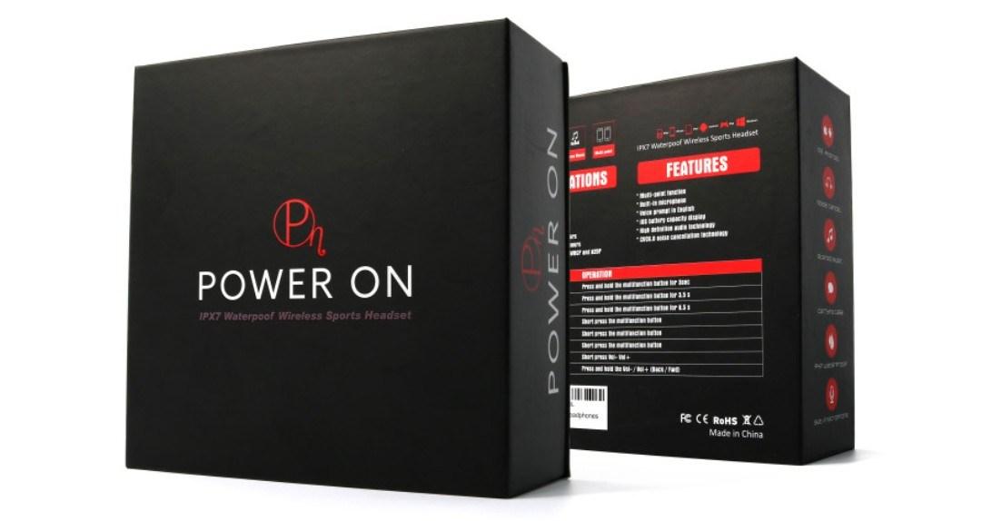 Bezprzewodowe słuchawki Power On. Zestaw (zdjęcie dystrybutora)