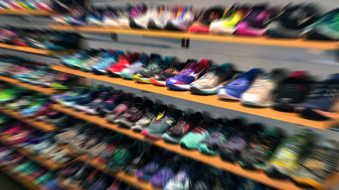 Buty minimalistyczne - trudno je wyszukać w sklepie...