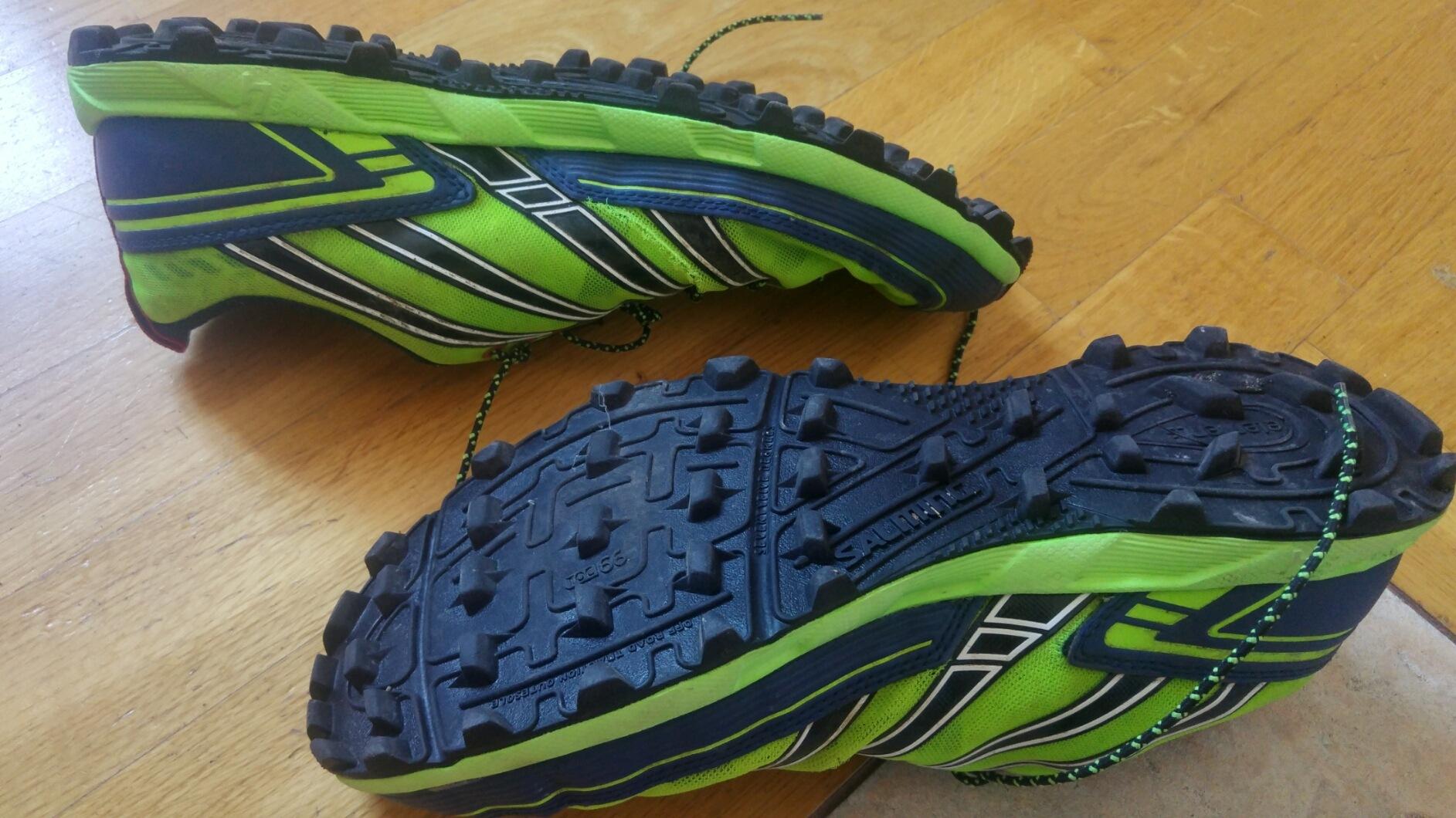 Zużycie butów do biegania - Salming Elements