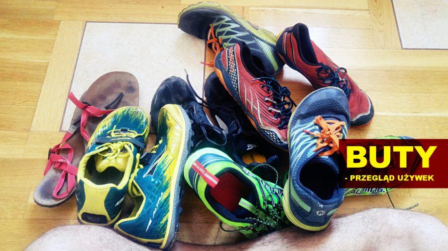 Używane buty do biegania. Raport zniszczeń