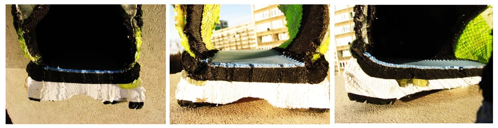 podeszwa butów do biegania