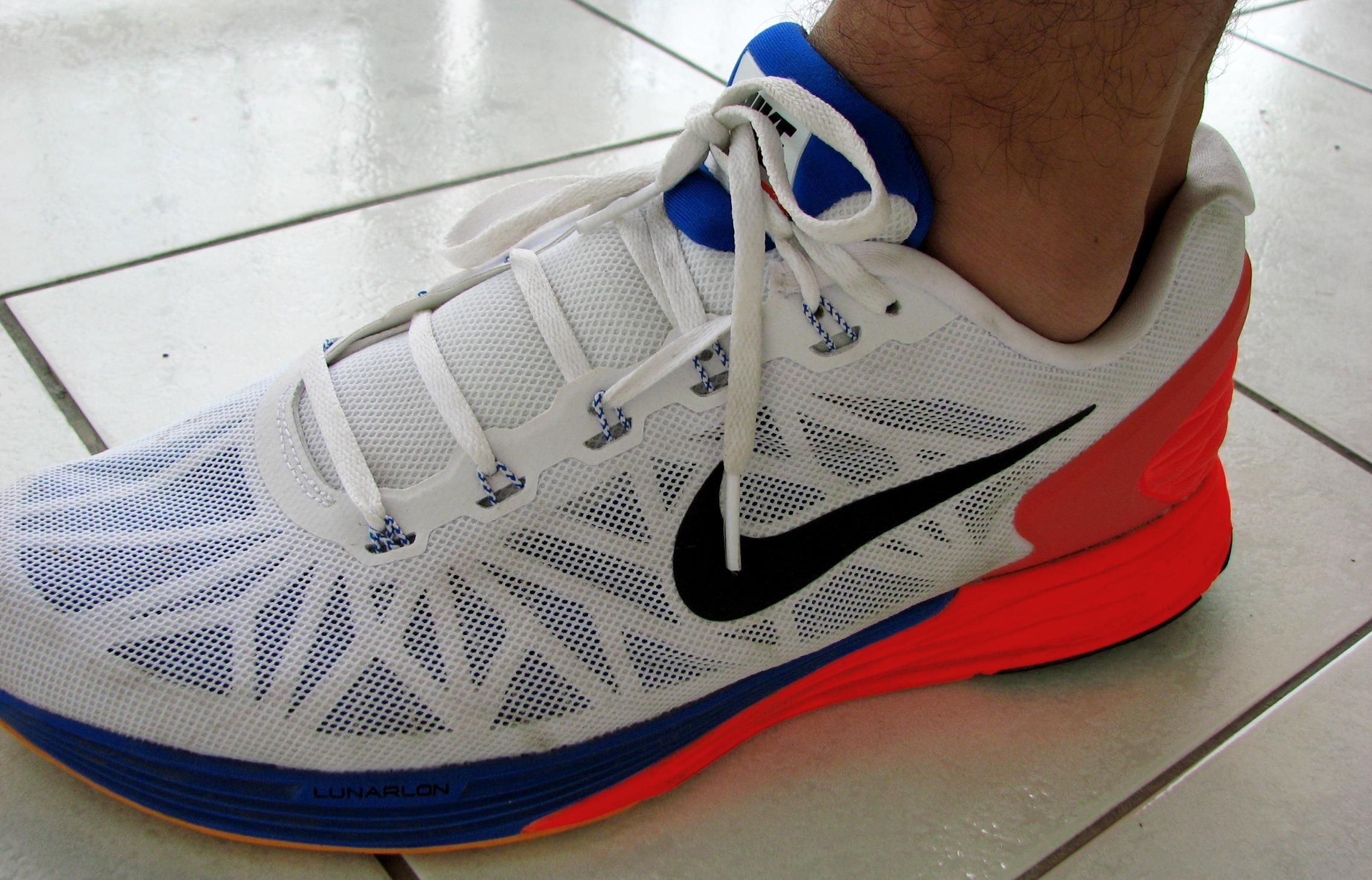 Nike Lunarglide na stopie