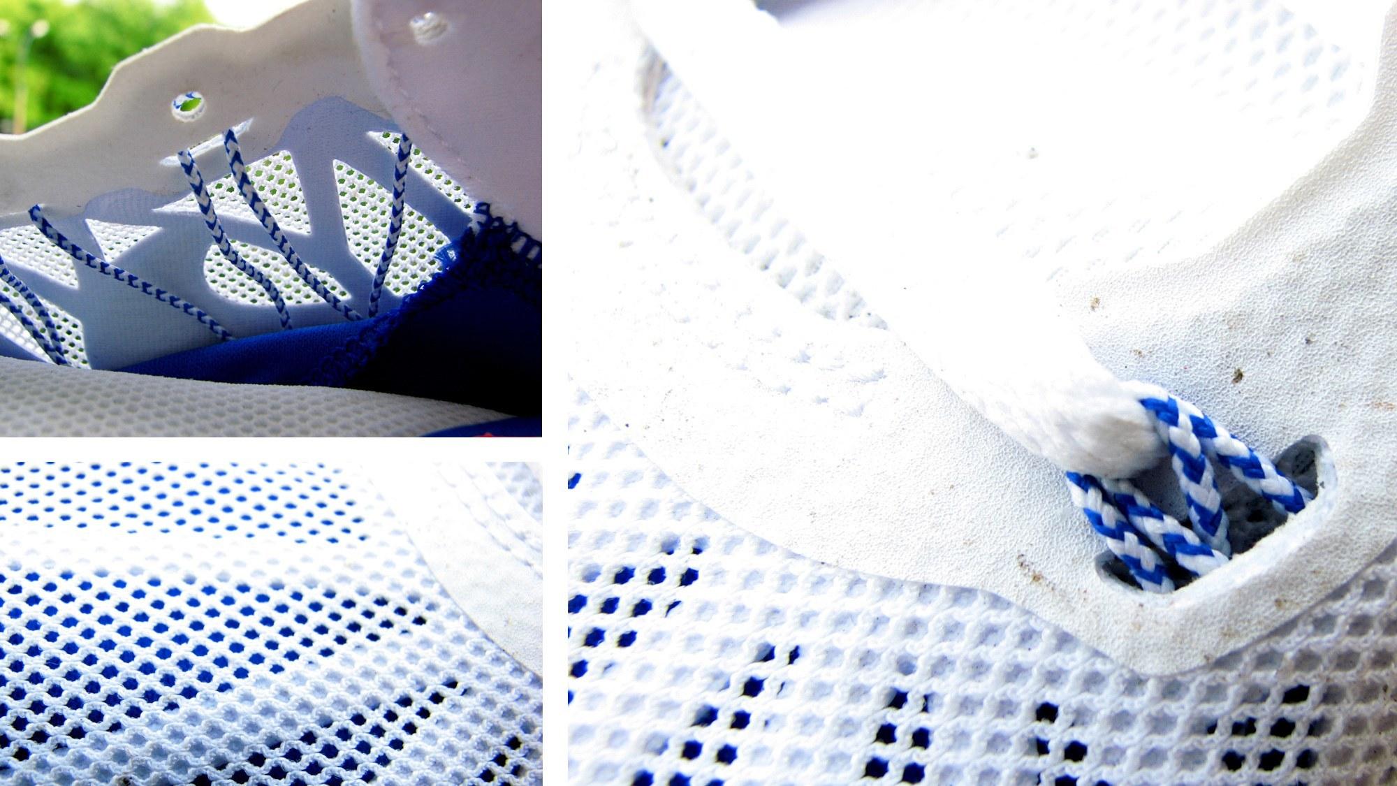 Nike Lunarglide 6 - wykończenie butów