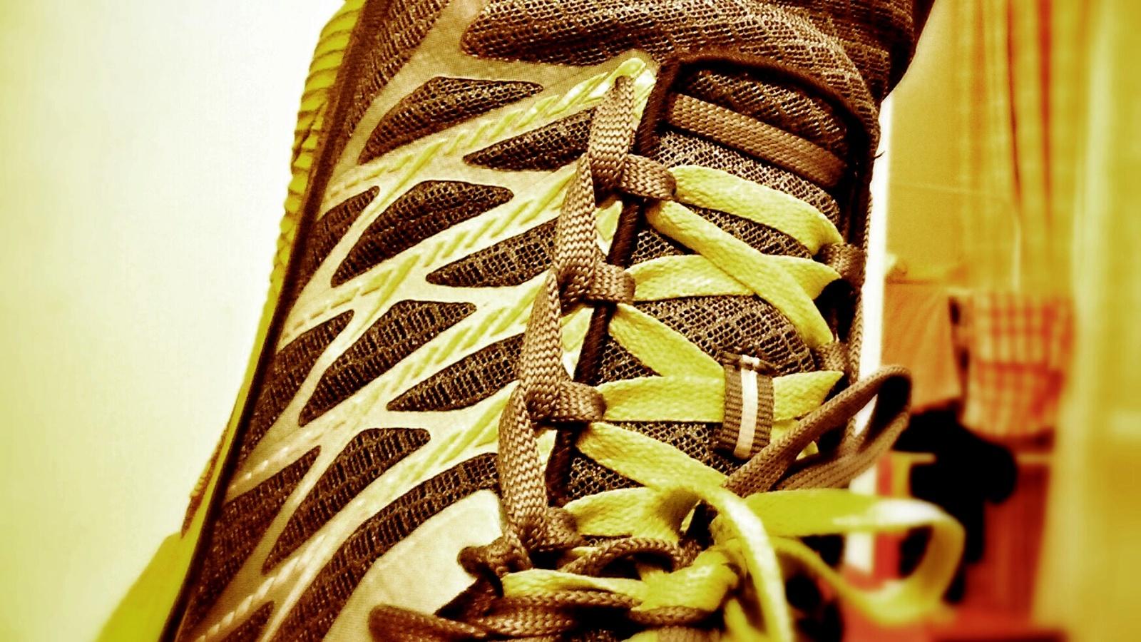 Zaawansowane sznurowanie butów do biegania