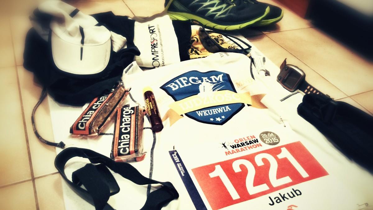 Maraton - ekwipunek biegacza