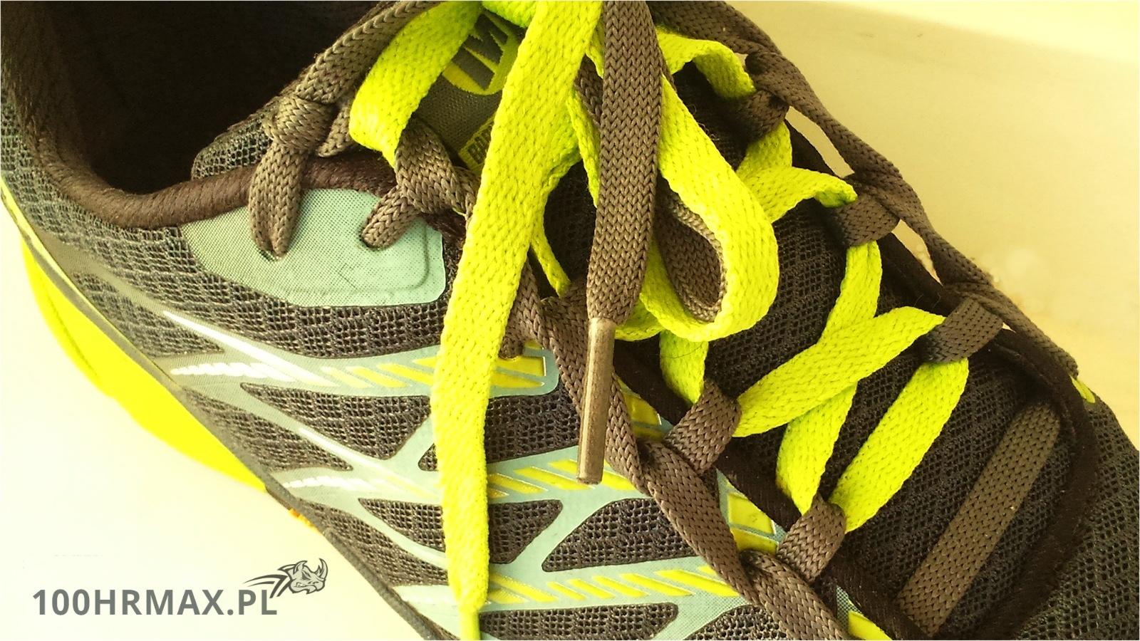 Merrell Bare Access Ultra - sznurowanie butów do biegania
