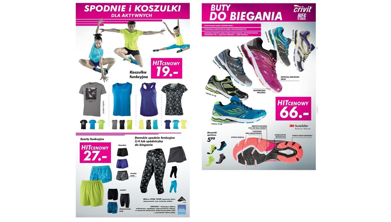 Lidl - buty crivit 66 zł