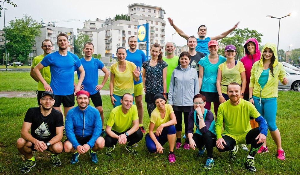 Biegowi blogerzy / autor: sportografia.pl