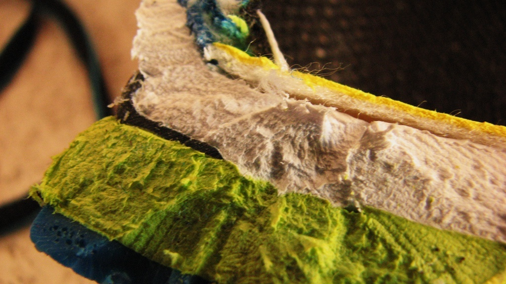 Lidl Crivit - wielowarstwowa struktura pięty