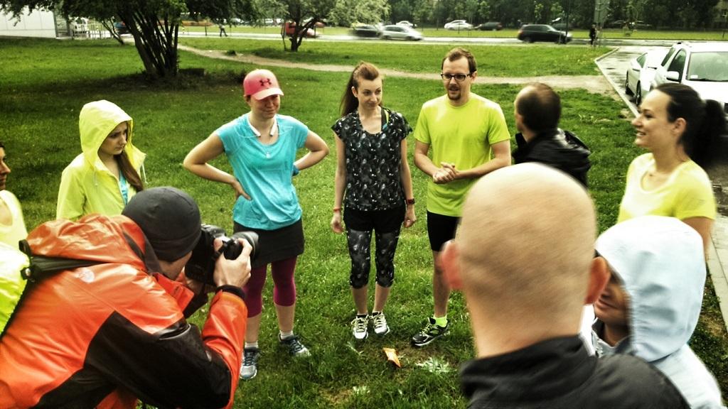 Odprawa blogerów biegowych