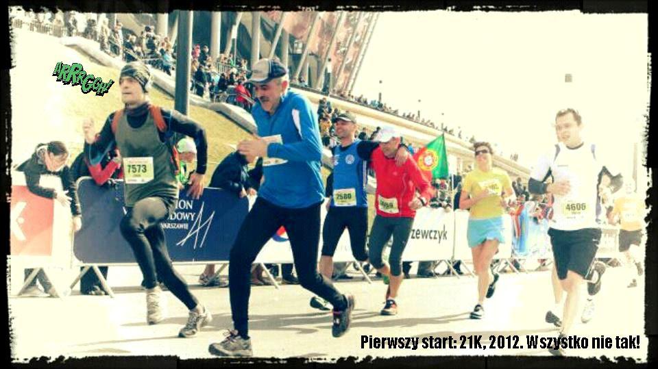 III. 2012. Startuję w półmaratonie Bieguna Północnego
